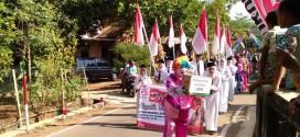 Warga Banjaran Jepara Peringati HUT Kemerdekaan Sambil Gelar Donasi Peduli Lombok