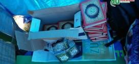 DPW ABI NTB Menyumbang Alquran, Buku Iqra untuk Anak-anak Korban Gempa Lombok