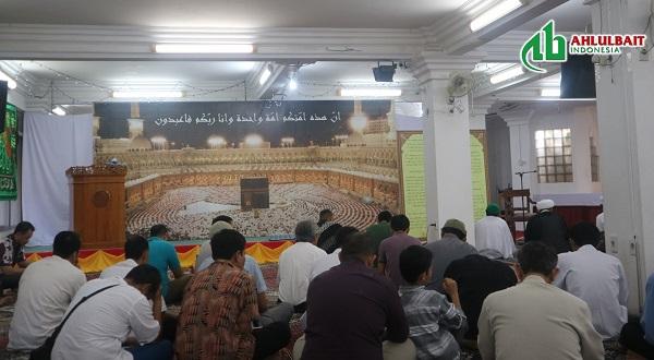 Shalat Idul Adha dan Penggalangan Dana Untuk Lombok oleh Komunitas Muslim Syiah