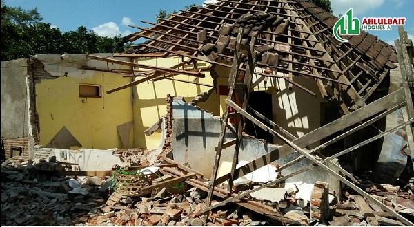 Semangat Relawan DPW ABI NTB Membantu Korban Gempa Lombok
