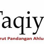 Taqiyah dalam Pandangan Ahlusunah