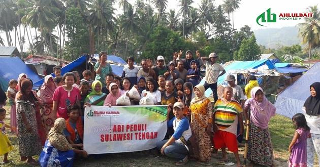 Menyiapkkan Tahap Pemulihan, ABI Peduli Sulteng Mengorganisir Pengungsi