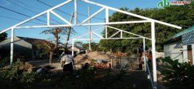 Proses Pembangunan Rumah Tahan Gempa di Lombok