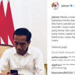 Presiden Joko Widodo: Media Sosial adalah Hutan Belantara Berita dan Informasi