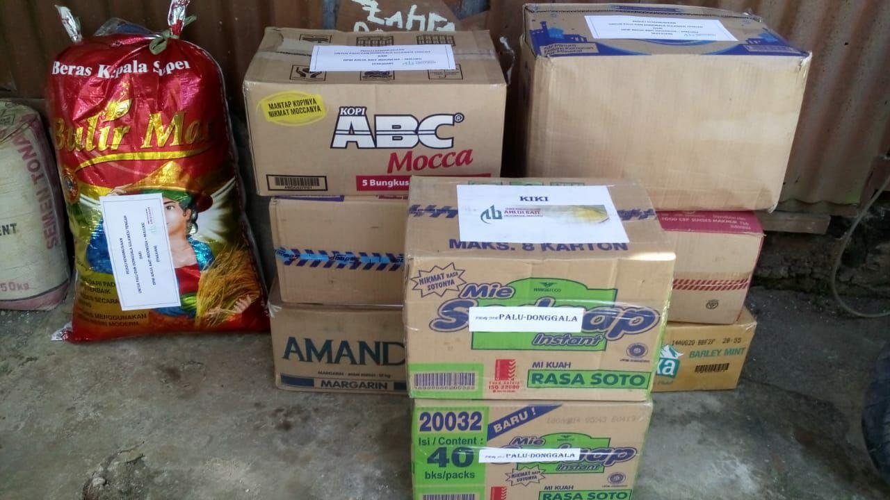 DPW ABI Maluku Salurkan Bantuan untuk Korban Gempa dan Tsunami di Palu