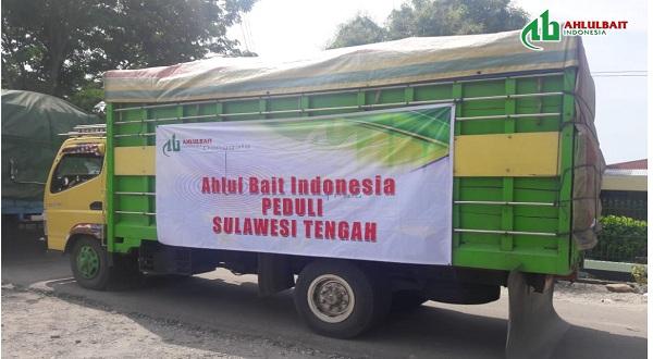 Relawan Ahlulbait Indonesia (ABI) Menyerahkan Bantuan Logistik untuk Pengungsi Palu