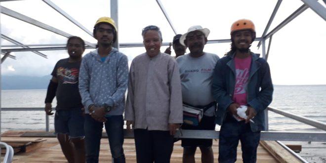 Ahlulbait Indonesia (ABI) Membangun Balai Serbaguna di Perkampungan Nelayan, Palu