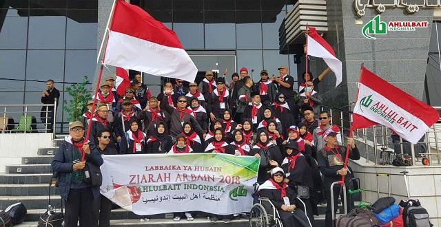 FOTO-Kafilah Arbain Ahlulbait Indonesia 2018