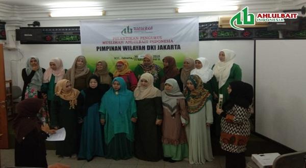 Pelantikan Pengurus Muslimah Ahlulbait Indonesia (MAI) Pimwil DKI Jakarta