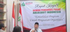 Rapat Kerja ke 5 DPP Ahlulbait Indonesia