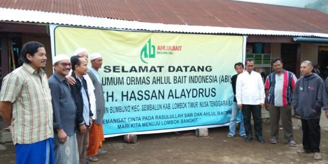 DPP Ahlulbait Indonesia (ABI) Meresmikan 7 Rumah Tahan Gempa di Lombok