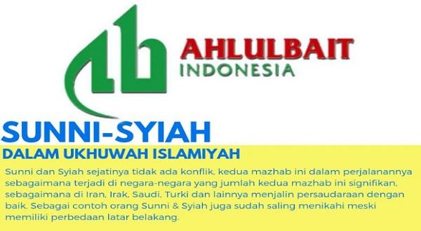 Infografis: Sunni Syiah dalam Ukhuwah Islamiyah