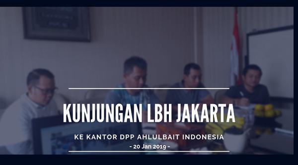 Kunjungan LBH Jakarta ke Kantor DPP Ahlulbait Indonesia