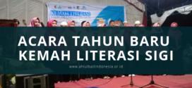 Acara Tahun Baru Kemah Literasi Sigi