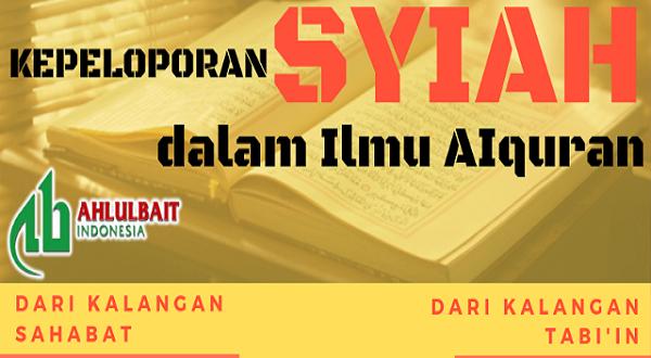 Infografis: Kepeloporan Syiah dalam Ilmu AIquran