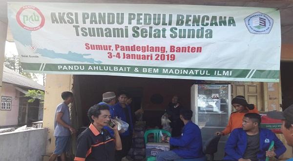 Aksi Pandu Ahlulbait Peduli Bencana Selat Sunda