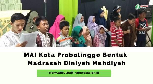 MAI Kota Probolinggo Bentuk Madrasah Diniyah Mahdiyah