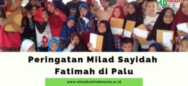 Peringatan Milad Sayidah Fatimah di Palu