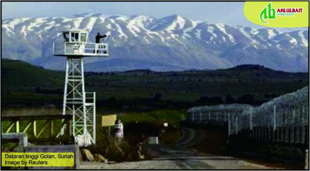 Dataran Tinggi Golan Diakui AS Jadi Wilayah Israel, Indonesia Mengecam
