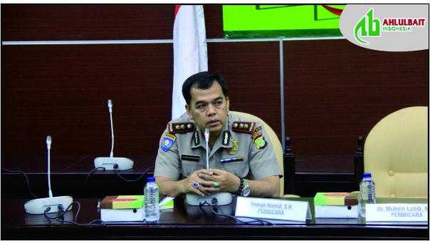 Sambutan Perwakilan Kepolisian Republik Indonesia dalam Peluncuran Buku Manifesto ABI