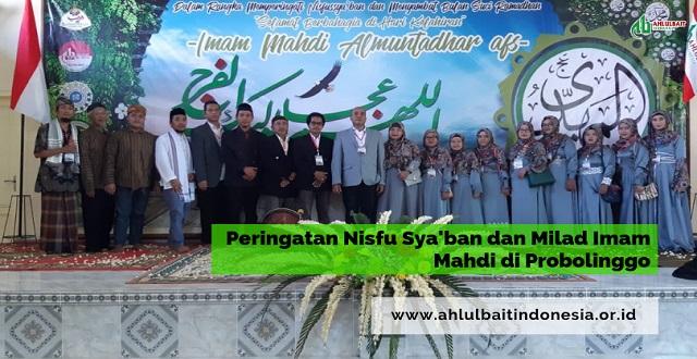 Peringatan Nisfu Syakban dan Milad Imam Mahdi di Probolinggo
