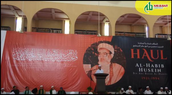 Suasana Peringatan Haul Habib Husein bin Abu Bakar al-Habsyi di Bangil, Jawa Timur