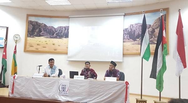 Mahasiswa Indonesia di Timur Tengah dan Afrika Keluarkan Deklarasi Amman 2019
