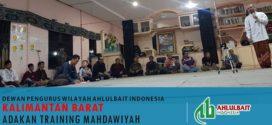 DPW ABI Kalimantan Barat Adakan Training Mahdawiyah