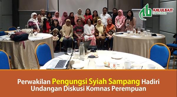 Perwakilan Pengungsi Syiah Sampang Hadiri Undangan Diskusi Komnas Perempuan