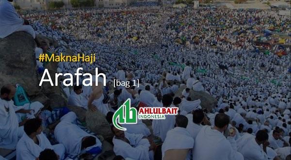 #MaknaHaji: Arafah [bag 1]