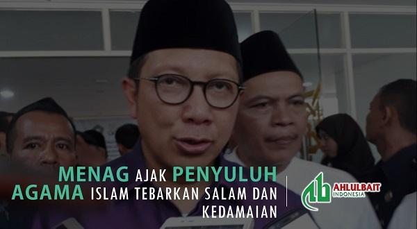 Menag Ajak Penyuluh Agama Islam Tebarkan Salam dan Kedamaian