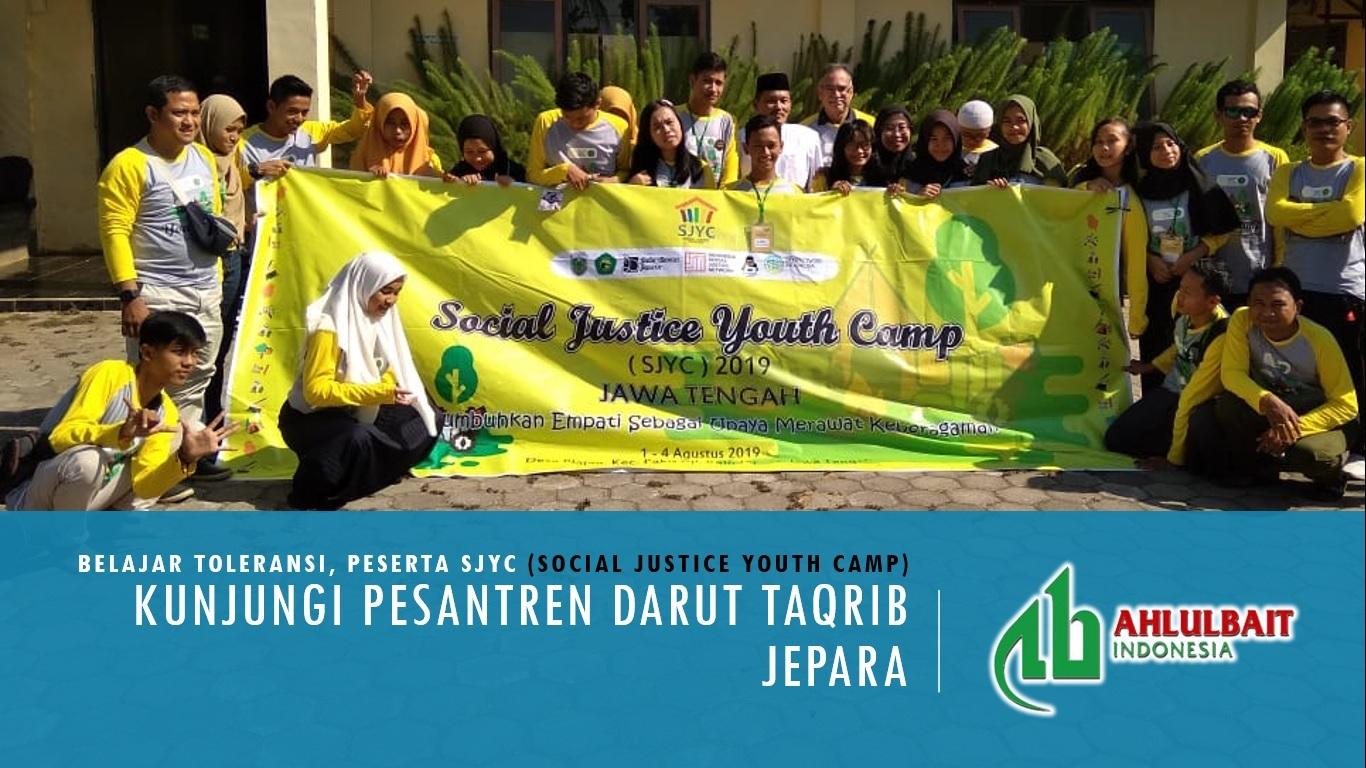 Belajar Toleransi, Peserta SJYC Jateng Kunjungi Pesantren Darut Taqrib Jepara