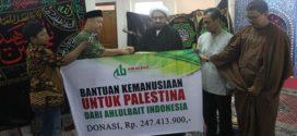Ormas ABI Menyerahkan Bantuan Kemanusiaan untuk Palestina