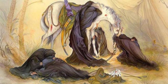 """Cerita di Balik Lukisan Masyhur """"Malam Asyura"""""""