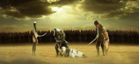 Rasulullah Saw, Imam as dan Sahabat Membacakan Syair Duka untuk Imam Husain as