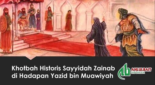 Khotbah Historis Sayyidah Zainab di Hadapan Yazid bin Muawiyah
