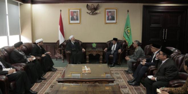 Menag Fachrul Razi Terima Delegasi Iran Diskusikan Keagamaan dan Pendidikan
