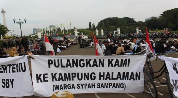 Permintaan Pengungsi Sampang kepada Pemerintahan Jokowi Periode Kedua
