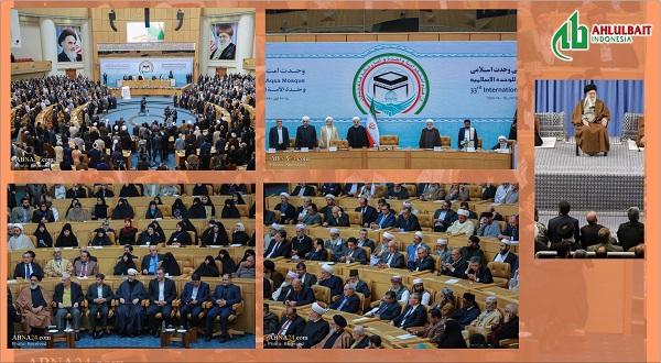 Pesan Ayatullah Khamenei pada Konferensi Internasional Persatuan Islam ke-33 di Tehran