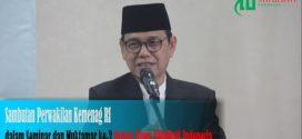 (video) Sambutan Perwakilan Kemenag RI dalam Seminar dan Muktamar ke-3 Ormas Ahlulbait Indonesia