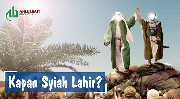 Kapan Syiah Lahir? [bag 3]