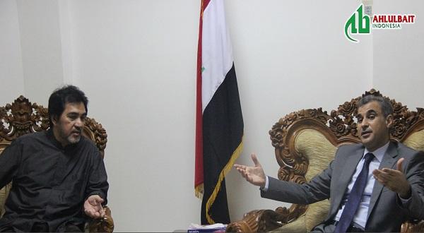 Kunjungi Kedubes Iran dan Irak, Ormas ABI Ucapkan Belasungkawa