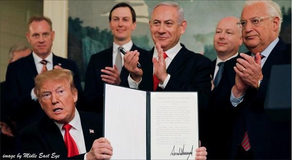 """Isi Permufakatan Jahat """"Deal of The Century"""" dan Respon Internasional"""