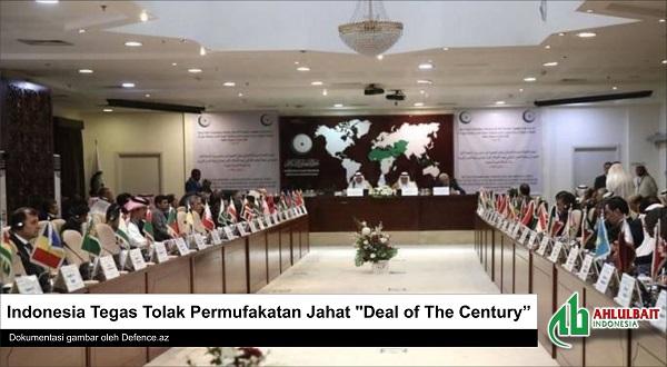 "Indonesia Tegas Tolak Permufakatan Jahat ""Deal of The Century"""