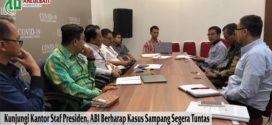 Kunjungi Kantor Staf Presiden, ABI Berharap Kasus Sampang Segera Tuntas