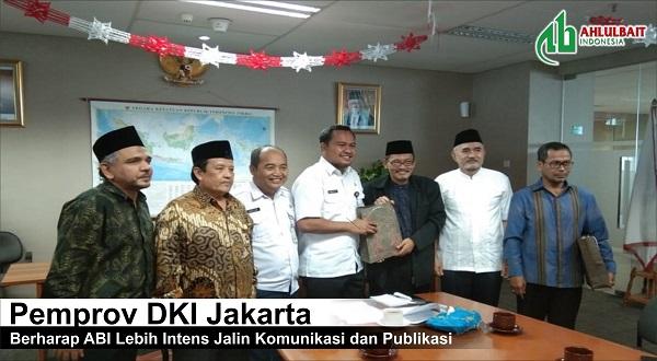 Pemprov DKI Jakarta Berharap ABI Lebih Intens Jalin Komunikasi dan Publikasi