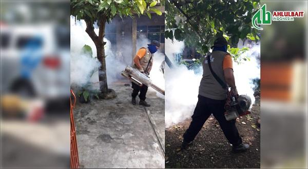 Berantas Demam Berdarah, ABI Rescue Fogging Gratis
