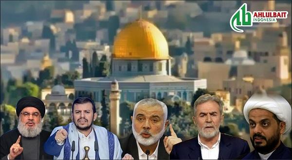 Para Tokoh Perlawanan Bicara tentang Hari Al-Quds Internasional