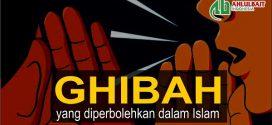 Ghibah yang Diperbolehkan dalam Islam