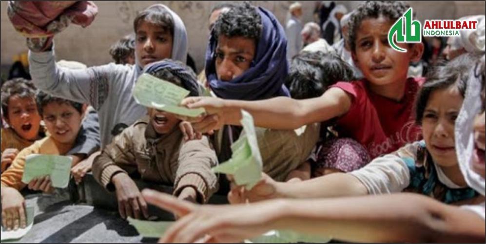 Selamatkan Anak-anak yang Kurang Gizi di Yaman
